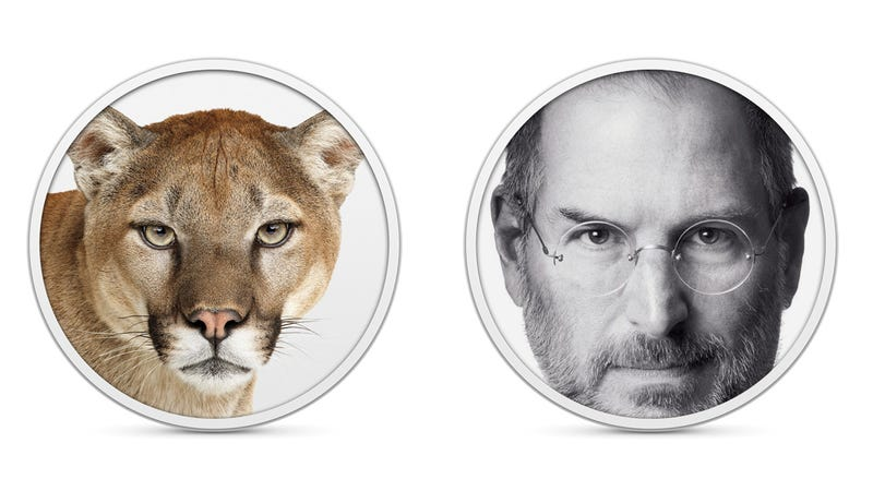 Illustration for article titled Some People Think Mountain Lion Is Steve Jobs—Wait, WHAT?