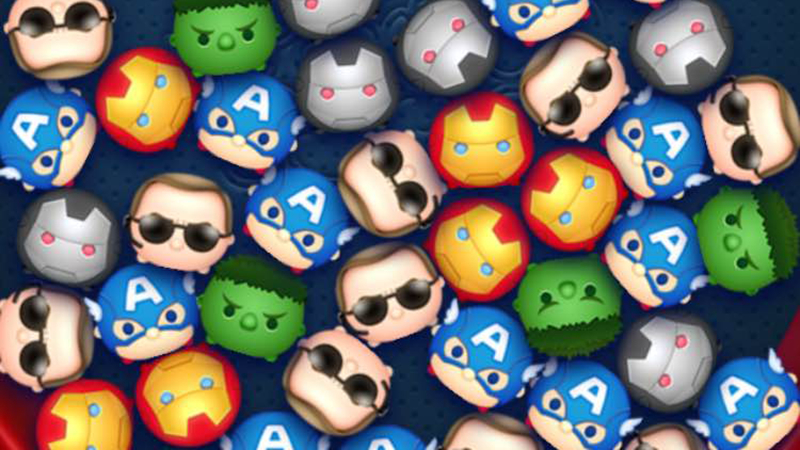 Illustration for article titled There's A Marvel Tsum Tsum Game Out Now
