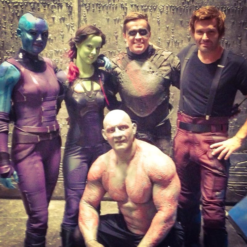 Illustration for article titled Guardians Of The Galaxy Stunt Doubles
