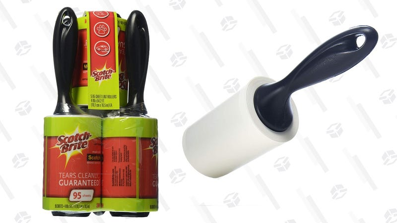 5-Pack Scotch-Brite Lint Rollers | $7 | Amazon | Clip the $2.80 coupon