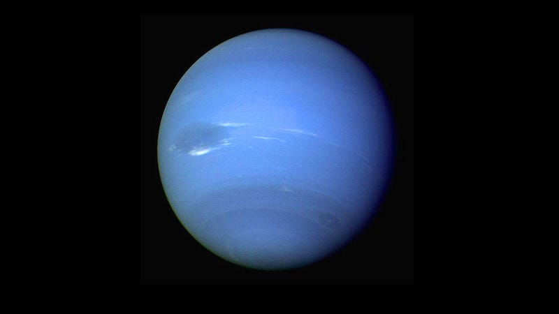 Illustration for article titled Astronomers Found a New Moon of Neptune--Hidden in Images From 2009