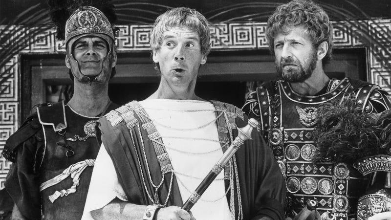 Life Of Brian's Pontius Pilate and Biggus Dickus.