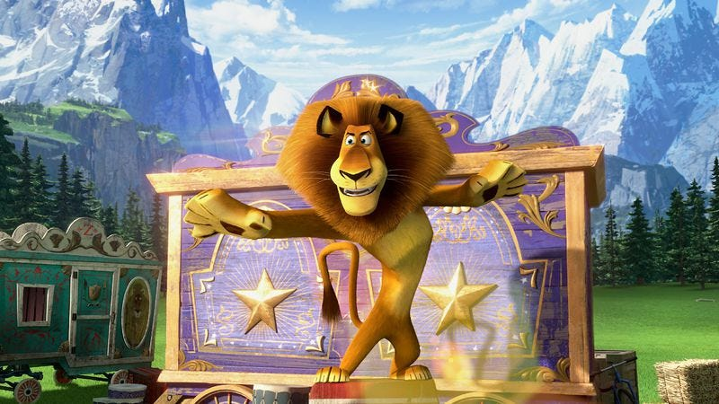 Illustration for article titled Madagascar 3: Europe's Most Wanted