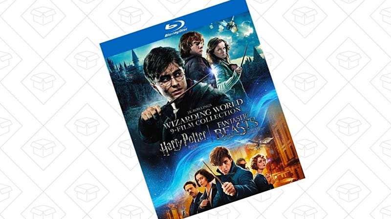 Wizarding World 9-Film Collection: SE (BD) [Blu-ray] | $40 | Amazon