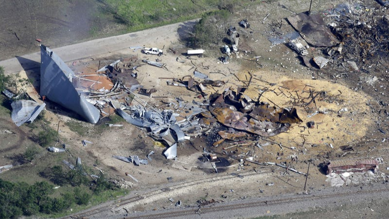 Illustration for article titled A Golf Cart May Have Sparked The Deadly West, Texas Explosion