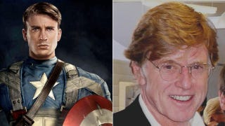 Illustration for article titled Robert Redford might be joining Captain America 2 and the Marvel movie-verse