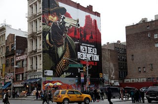 Illustration for article titled Red Dead New York City