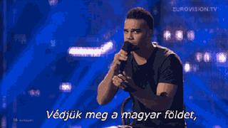 Illustration for article titled Te értetted, miről énekel Kállay-Saunders András az Eurovízión?