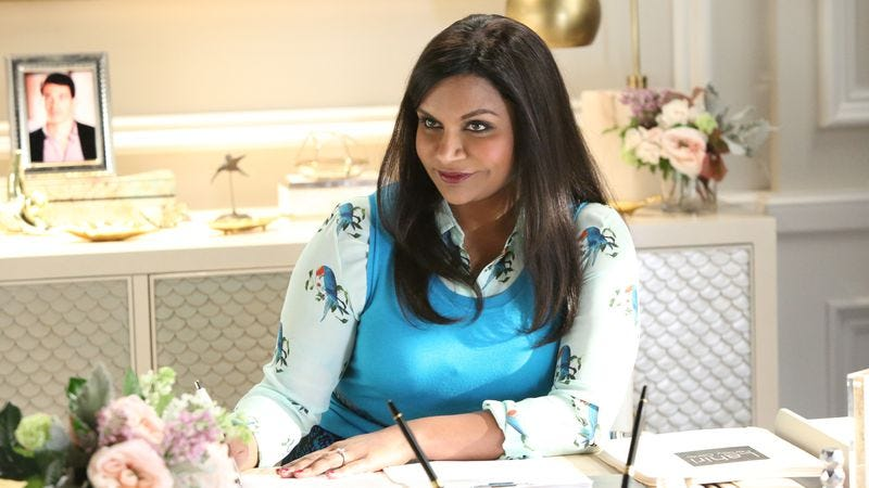 Mindy Kaling on The Mindy Project (Photo: Fox)
