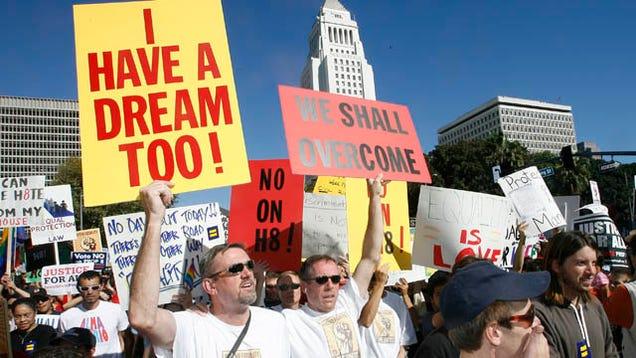 California Gay Marriage Vote 83