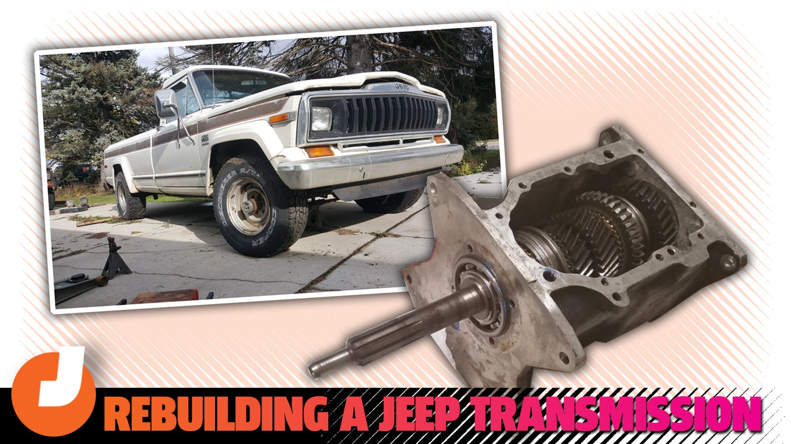 How I Rebuilt My Jeep Truck's Transmission In My Kitchen For Under $150