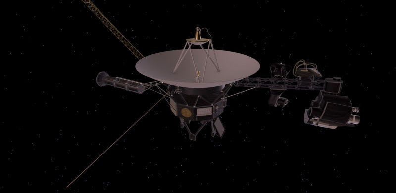 Illustration for article titled El plan de la NASA para prolongar la vida de las Sondas Voyager a 18.000 millones de km de la Tierra