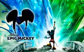 Illustration for article titled Review: Epic Mickey Reveals The Price Of Mischief, But With Camera Obscured