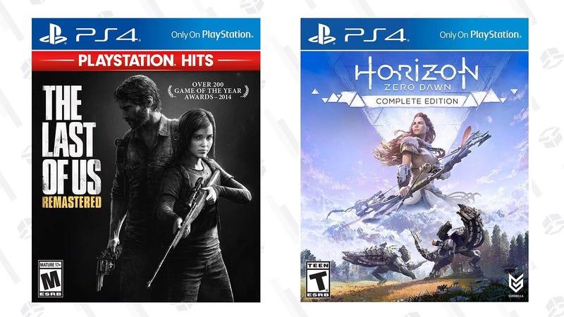 The Last of Us Remastered | $10 | AmazonHorizon Zero Dawn Complete Edition | $10 | Walmart