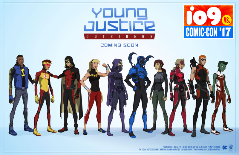 Illustration for article titled Young Justice Creators Talk About Bringing Back the DC Comics Superhero Show for a Third Season