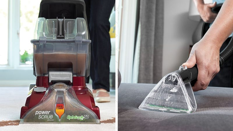 Hoover Power Scrub Deluxe Carpet Cleaner, $96