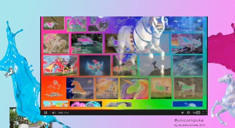 Illustration for article titled Unicorn Puke