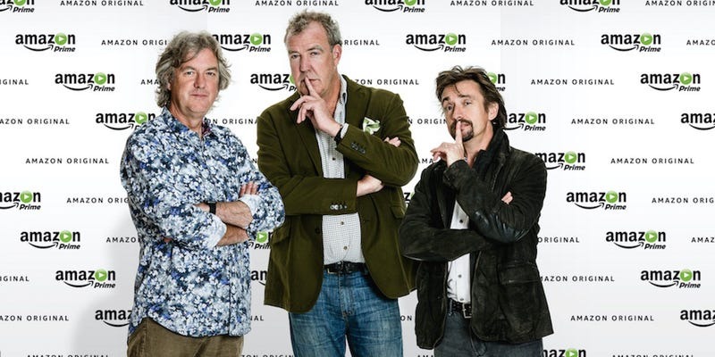 Illustration for article titled Amazon Announces New Car Show Featuring the Old Top Gear Presenters
