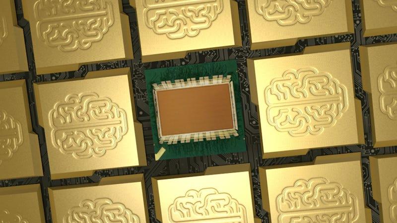 Illustration for article titled El nuevo procesador de IBM simula una red de un millón de neuronas