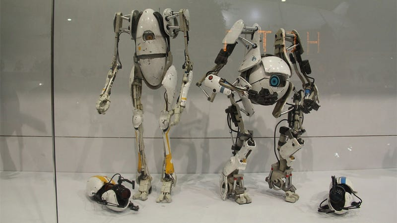 Illustration for article titled You'll Want These Portal Action Figures Next Christmas