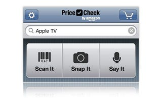Illustration for article titled Amazon Price Check Searches Amazon.com Using Text, Your Voice, Photos, and Barcodes