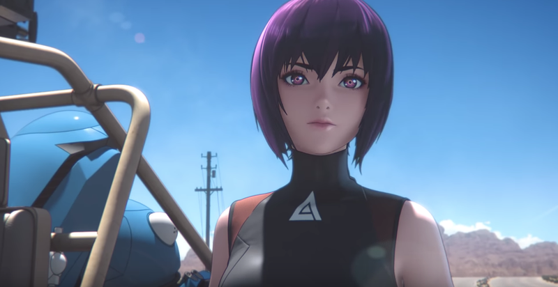 Illustration for article titled The Internet Reacts To The Ghost In The Shell's Full-3D Anime Style