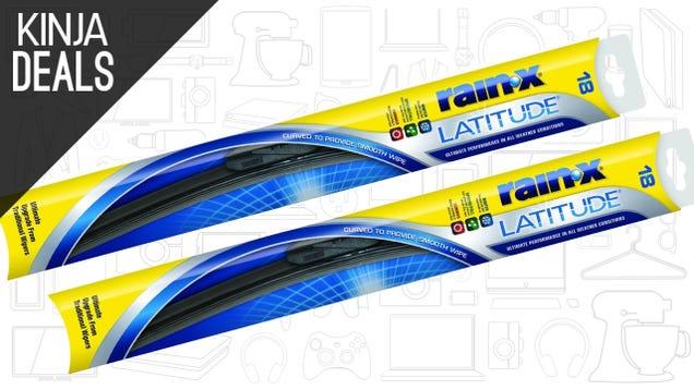 Grab a Fresh Set of Wiper Blades For $23
