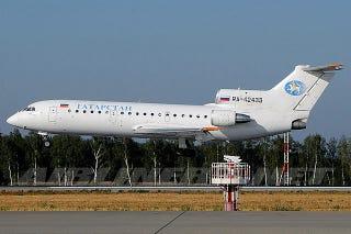 Illustration for article titled Doomed Lokomotiv Yaroslavl Plane Was Banned In Europe Due To Safety Concerns
