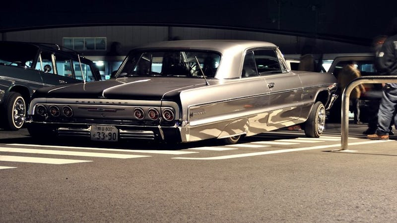 """Illustration for article titled """"When was the last time you saw a Chevrolet in Tokyo?"""""""