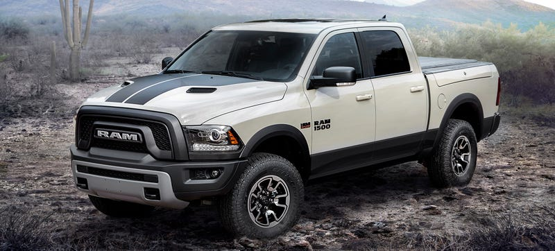 Illustration for article titled Looks Like Some 2017 V6 Ram Trucks Shipped With Hemi Badges On Them Instead