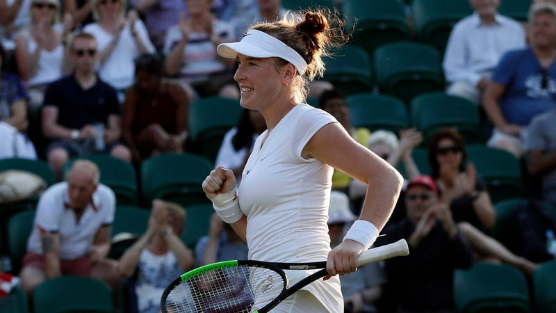 """Illustration for article titled Madison Brengle Sues WTA For """"Physical Injury,Emotional Trauma"""" Caused By Intravenous Doping Tests"""