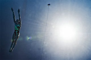 Illustration for article titled The Diving Belle