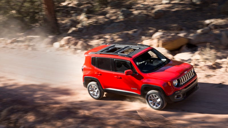 Illustration for article titled ​The 2015 Jeep Renegade Is Just As Good As You Hoped It Would Be
