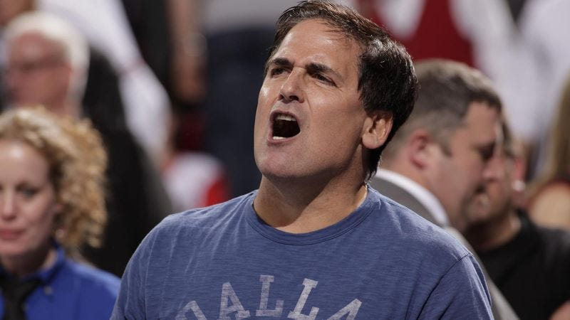 Illustration for article titled Nation Wrestling With Notion Of Mark Cuban Winning NBA Title