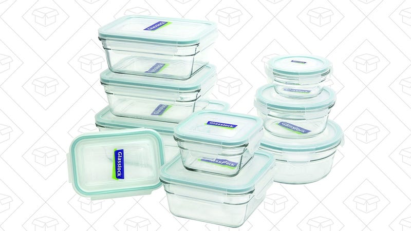 Glasslock 18-Piece Oven Safe Storage Set, $26
