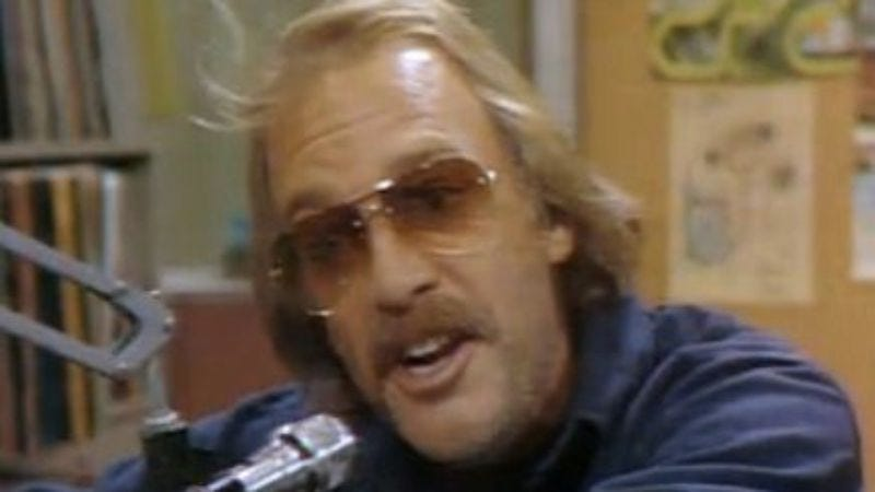 """Illustration for article titled WKRP In Cincinnati, """"Mike Fright"""""""