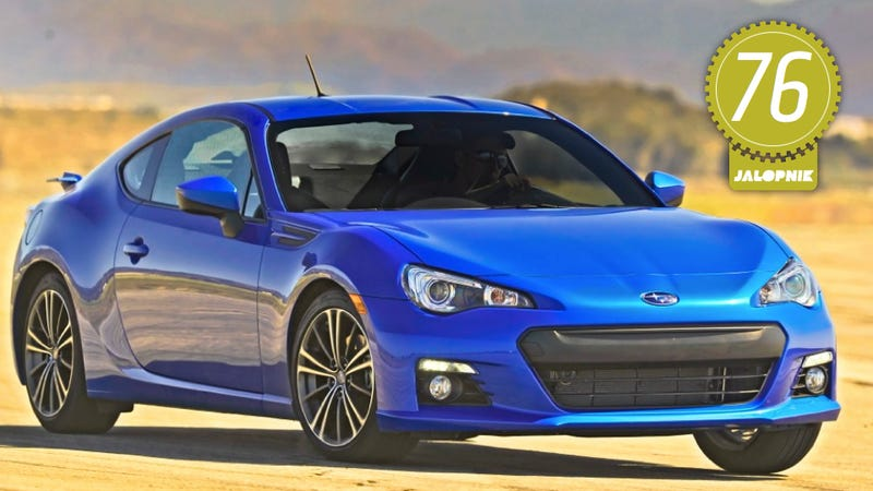 Illustration for article titled 2013 Subaru BRZ: The Jalopnik Review