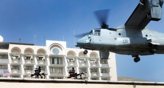 Illustration for article titled How The Marines Could Evacuate The U.S. Embassy In Libya