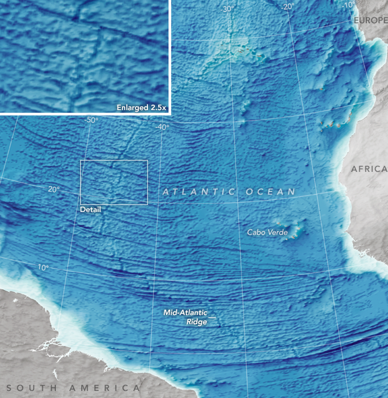 Hereu0027s The Most Complete Ocean Floor Map Ever Made