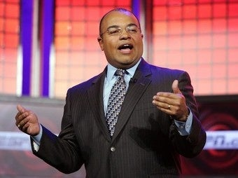 Illustration for article titled Mike Tirico Being Groomed For Bigger, Boomer Things