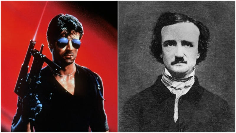 Illustration for article titled Sylvester Stallone is still determined to finish the script for his long-planned biopic of Edgar Allen Poe