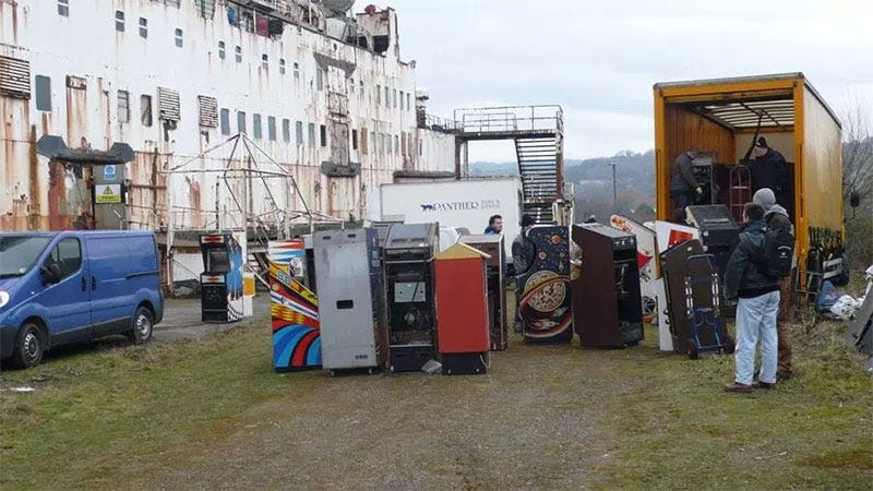 Raid On Abandoned Ship Saves Over 50 Classic Arcade Games