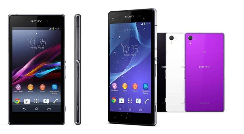 Sony Xperia Z2 vs Z1 vs Z1 Compact, ¿qué cambia?