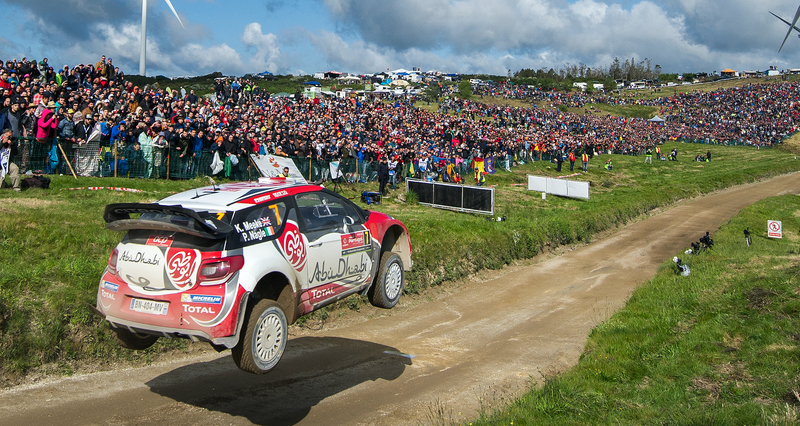 From the FIA World Rally Championship event in Portugal. Photo credit: Octavio Passos/Getty Images