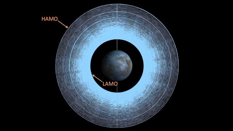 The Long, Spiraling Path NASA's Dawn Spacecraft Will Take to Ceres