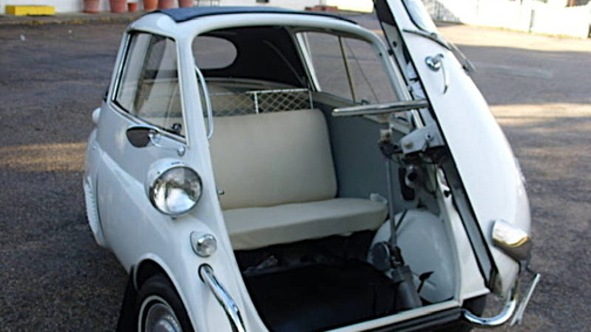 1958 Bmw Isetta Convertible For An Eggcellent 39650