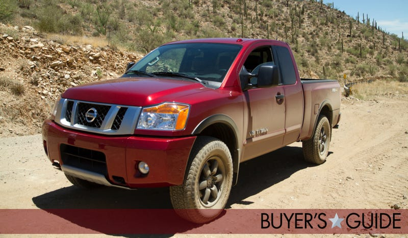 Illustration for article titled Nissan Titan: Jalopnik Buyer's Guide