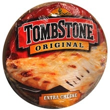 """Illustration for article titled Tombstone Original """"Extra Cheese"""" Freezer Pizza"""