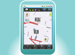 Illustration for article titled Free Waze App Turns GPS Navigation Into a Social Cellphone Game