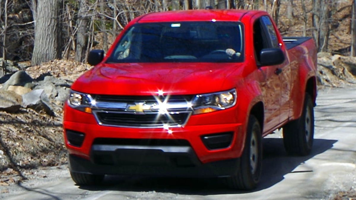 Why You Dont Want The Manual Transmission 2015 Chevy Colorado I4 Engine Diagram